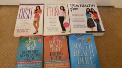 6 dieting/healthy eating books