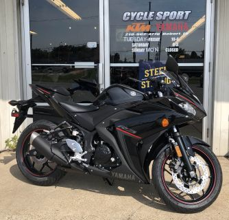 2018 Yamaha YZF-R3 SuperSport Motorcycles Hobart, IN