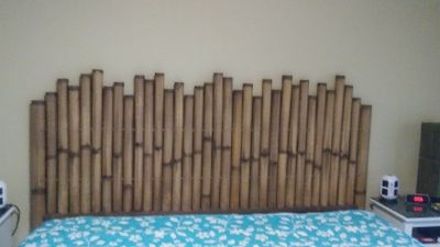 Bamboo King Headboard