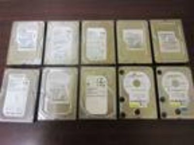 "LOT OF 10 DRIVES* 320GB Desktop PC Internal 3.5"" SATA Hard"