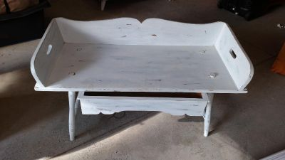 Wood Sitting bench with drawer
