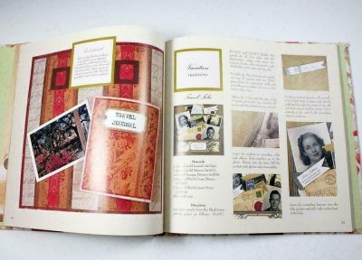 NEW Designer Scrapbooks Anna Griffin Memorable Moments Captured Style Hard Cover w Dust Jacket