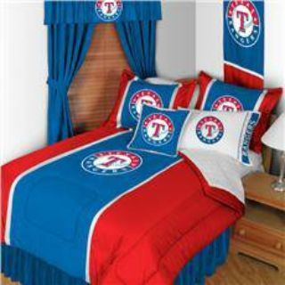 TEXAS RANGERS FULL BED SPREAD