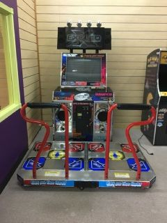 Pump It Up Exceed Dance Floor Arcade Game RTR# 9023497-04