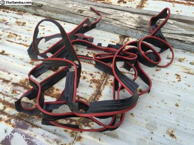 NOS L456 Ruby Red fender beading