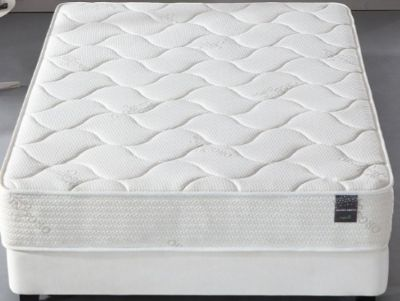 Organic cotton luxurious mattress with green memory foam certified QUEEN SIZE