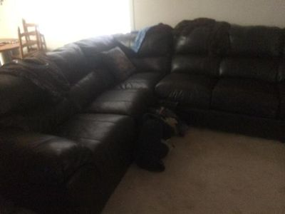 $1,500, Leather Sectional