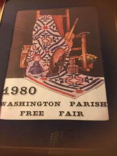 Washington Parish fair posters