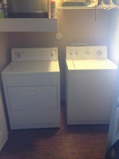 $400, Kenmore Washer and Dryer