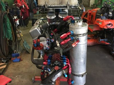 Sprint Car Motor