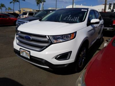 2016 Ford Edge 4dr SEL AWD (White)