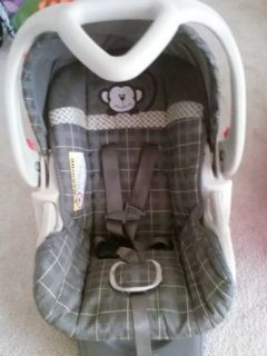 Carseat, Stroller, Bouncer  More