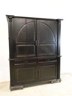 Large Scale Neo-Classical TV Armoire