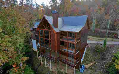 414 West Shalom Court Blue Ridge Five BR, Absolute Privacy and