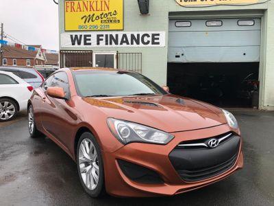 2013 Hyundai Genesis Coupe 2.0T (orange)