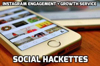Instagram Engagement + Growth Service