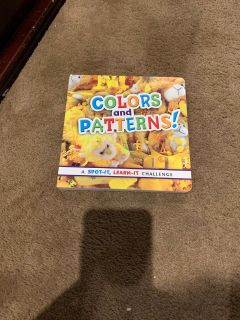 Colors and Patterns book