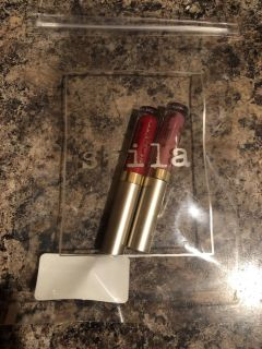 New, never removed from shipping pkg, lip glosses by STILA