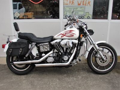 1995 Harley-Davidson Harley FXDL Dyna Low Rider (White with Red Tribal) Cruiser Williamstown, NJ