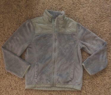 Girls 7/8 fleece coat