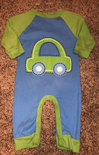 Gerber Adorable CAR Jumpsuit Outfit. Size 3-6 Months. Nice Condition