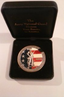 Army National Guard service coin