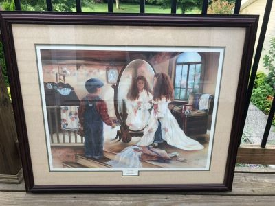 Paul Vaughan Signed Limited Edition Print- First Look