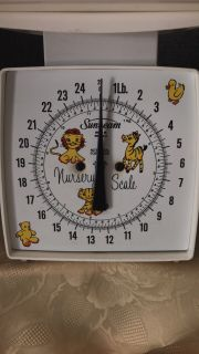 Nursery Baby Scales. Great for Pets too up to 25 Pounds