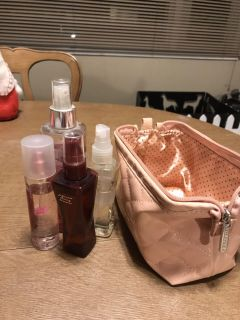 Body Spray Lot and pouch