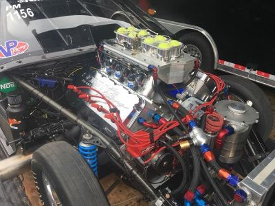 Sonny s 777 GM Hemi-------1700 HP natural, plus 3 stag