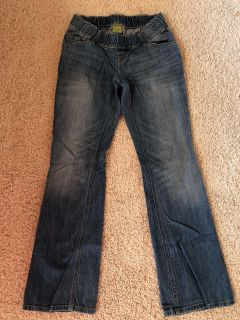Old Navy maternity boot cut jeans size 2