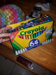 New! 64 markers