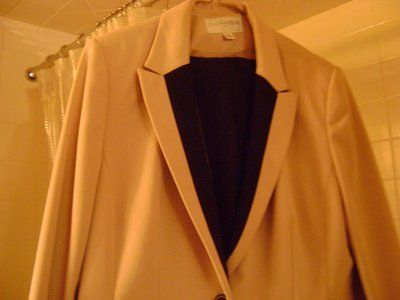 """2-Piece Suit By """"Sag Harbor"""" - Size 18 (Tan - Not Pink As Picture Suggests)"""
