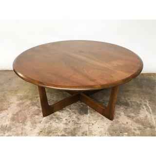 Circular Coffee Table - Vintage Mid Century