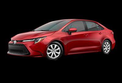 2020 Toyota Corolla LE (Barcelona Red Metallic)