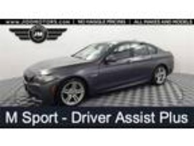 Used 2016 BMW 5 Series Gray, 56.5K miles