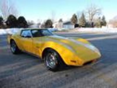 1973 Chevrolet Corvette 953 Code Yellow