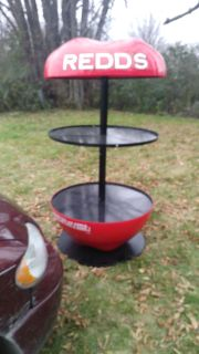 New Redd's apple beer table bar or shelf whatever you want to use it for