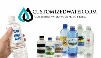 Order Personalized Water Bottles Online from Customized Water Co.