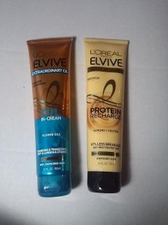 L'or al Elvive Extraordinary Oil & Protein Recharge Leave in Conditioners