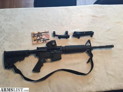 For Sale: AR15 M4 Rifle