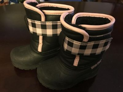 Toddler/baby winter boots