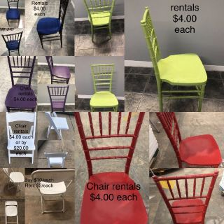 Chair rentals for any event!