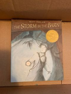 The storm in the Barn- in good condition.