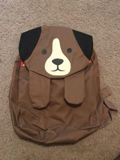 Adorable puppy dog backpack
