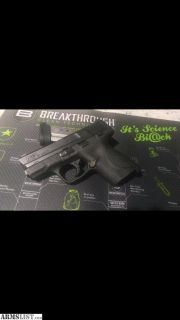 For Sale: SW M&P shield 40sw+AMMO