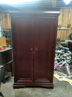 Large armoire with 3 drawers