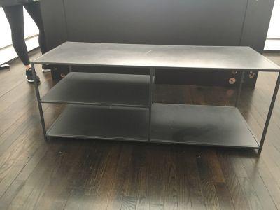 Gunmetal coffee table