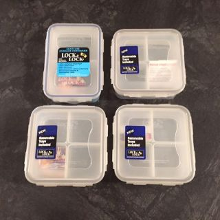 NEW Lock & Lock containers lot