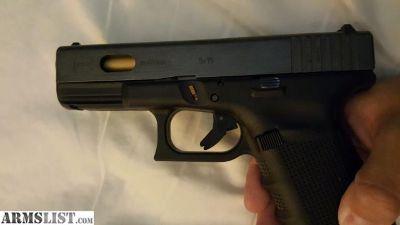 For Sale: Gen 4 glock 19 with custom slide and Titanium nitride coated barrel